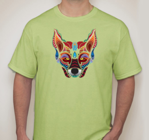 visions-of-the-wild-green-tee-front